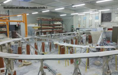Modèle pour moules paquebot K34